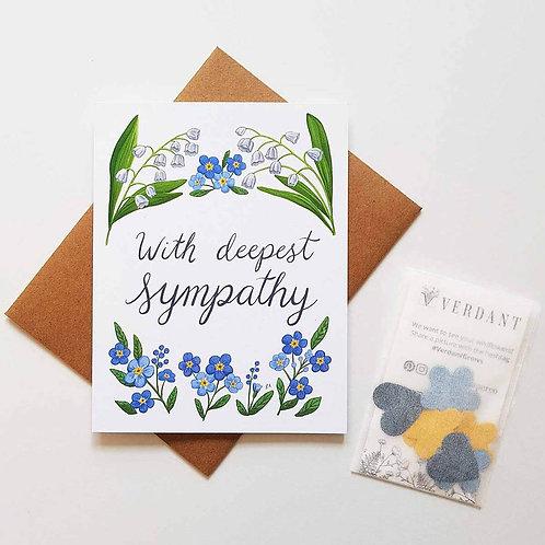 Sympathy Eco-Friendly Greeting Card