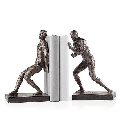 Athletic Resin Men 2 Piece Bookends Set