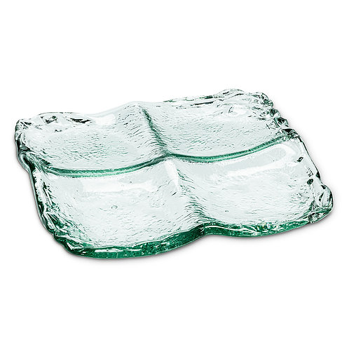 Low 4 Section Tray