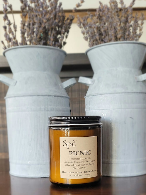 Picnic Outdoor Candle