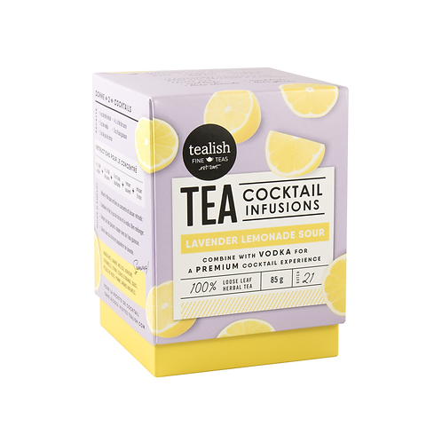 Lavender Lemonade Cocktail Infusion