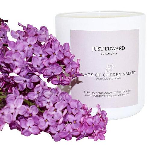 Just Edward Botanicals Lilac Candle