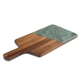 Wood and Slate Paddle Board