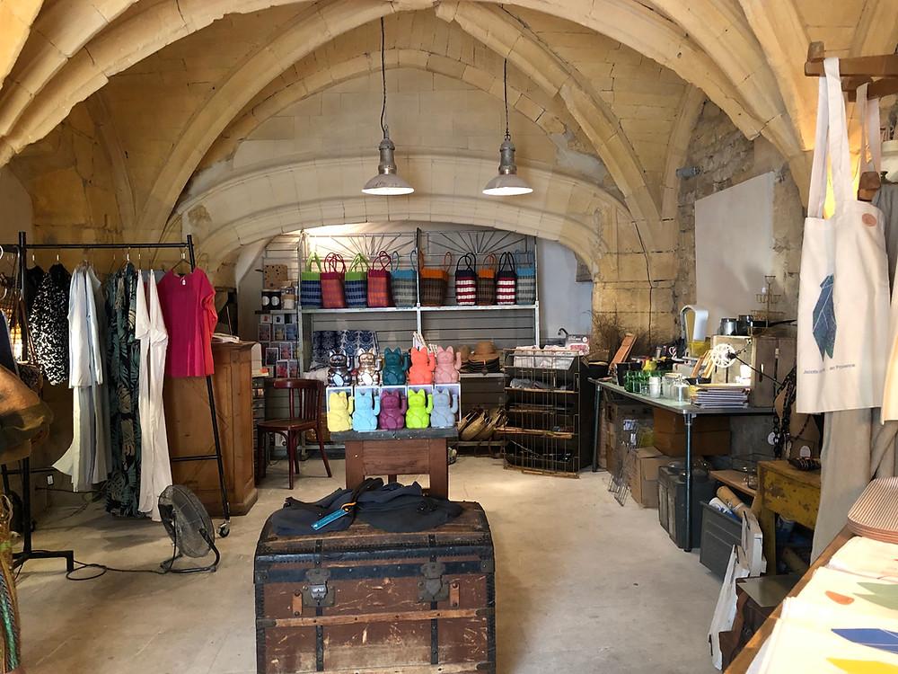 La boutique, Au Brin de thym