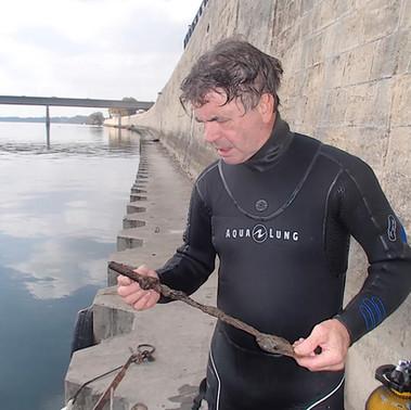 Luc Long - Archéologue sous-marin