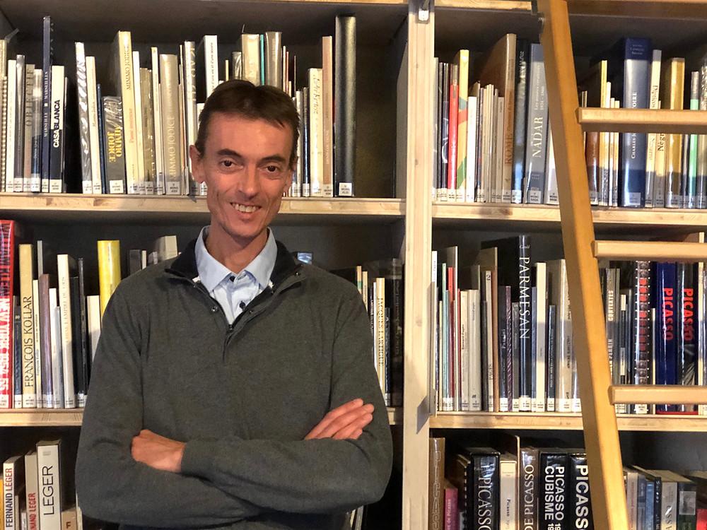 Daniel Rouvier - Directeur du Musée Reattu - Credit Photo Laure d'Arles