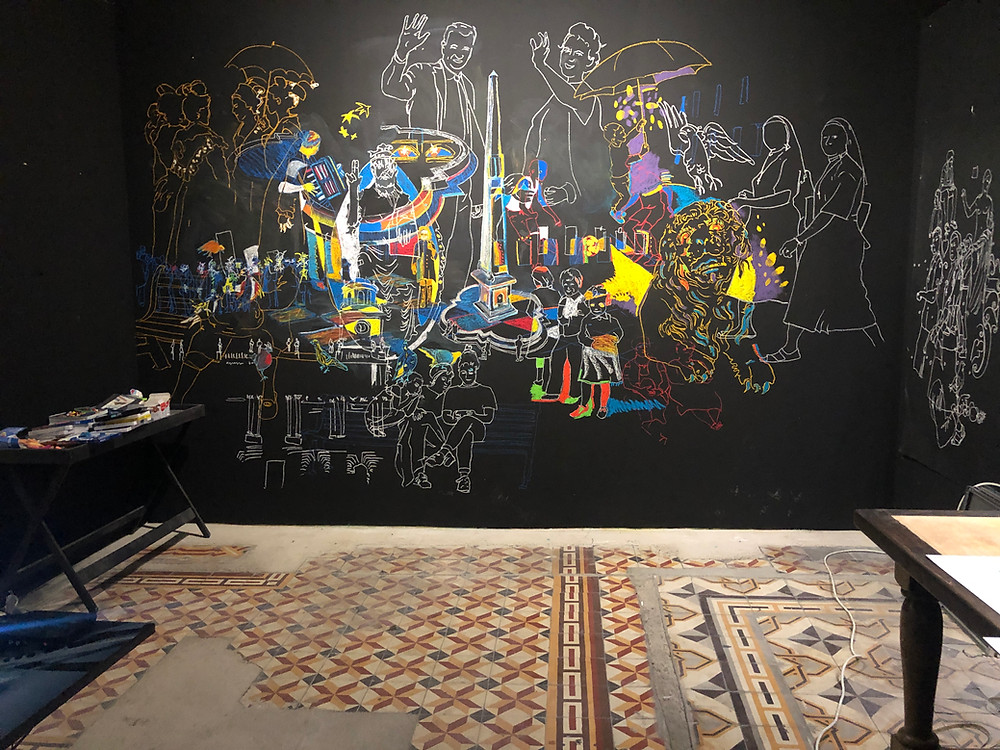 Crédit photo: Laure d'Arles -  Fresques de la  Croisiere