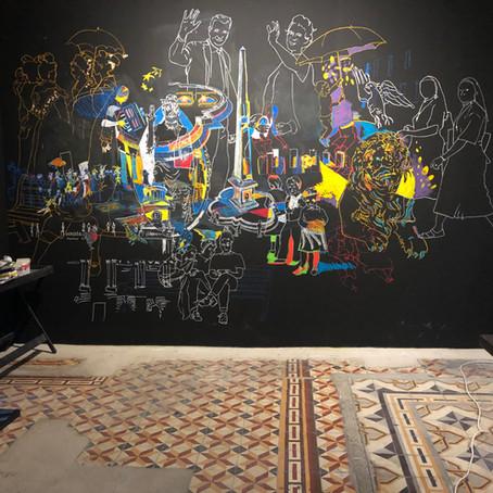 Les fresques de Nicolas Havette