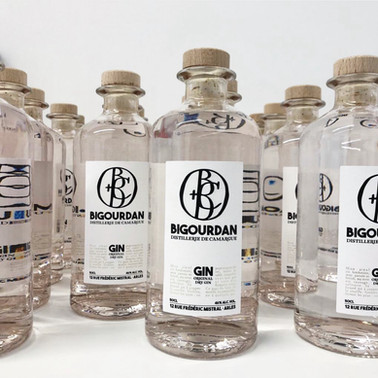 "Le Gin BIGOURDAN, le ""London Dry"" Camarguais"