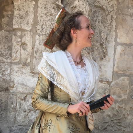 Aurore Guibaud,  une ancienne Reine d'Arles