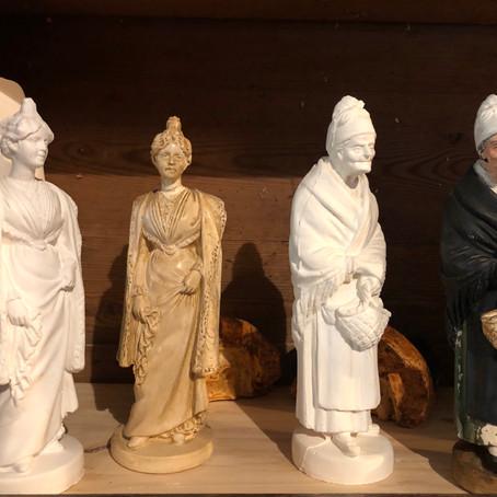 Elisabeth Ferriol et ses santons de provence