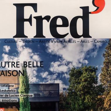 Marie Mazeau & FRED' Magazine