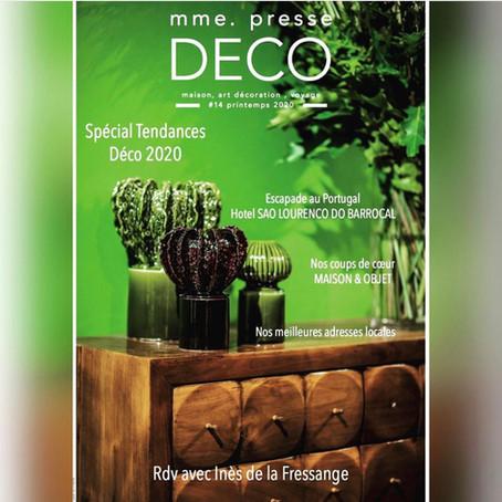 mme presse-deco - Spécial Tendance 2020