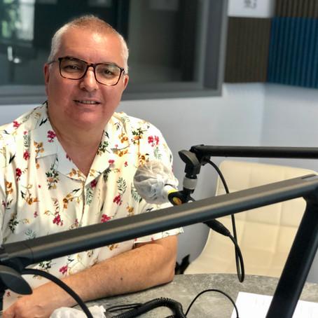 """Hakim Yckache """"la voix"""" radiophonique de Soleil FM 96.3"""