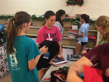 FPC Newton High School Youth & Adults --Monday Mission Trip Moments