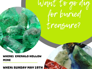 Upcoming Event: May 19th, 2019 | Gem Mining