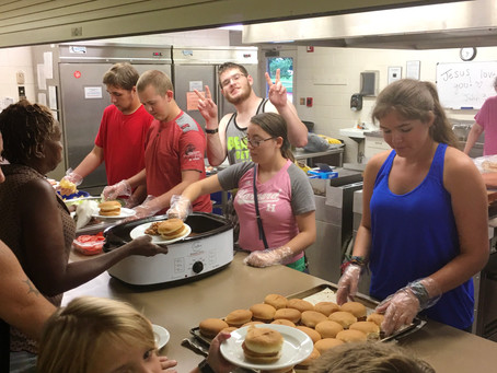 FPCNEWTON Youth Provide Free Meal.