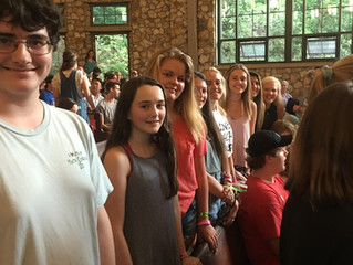 FPC Newton High School Delegates to Montreat Youth Conference