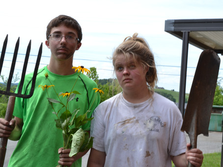 FPC Newton HS Mission Trip - Landscaping Project