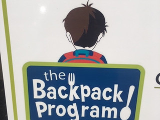 The Backpack Program of Catawba County receive help from WNC Presbyterians