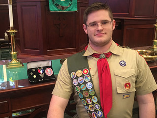 Eagle Scout Awarded to FPCNEWTON Youth