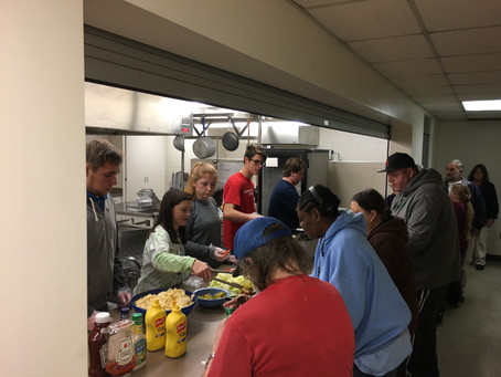 Sunday Community Supper at First Presbyterian Church- Newton