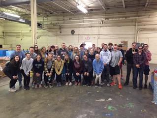 First Presbyterian Newton host Presbytery High School Mission Retreat- assists ECCCM