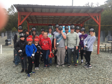 Paintball Fun with FPC Newton Youth