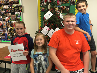 Christmas Wishes Mission Project Begins