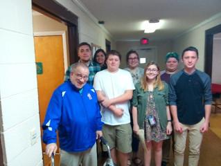 First Presbyterian Church in Newton Youth Visit Homebound