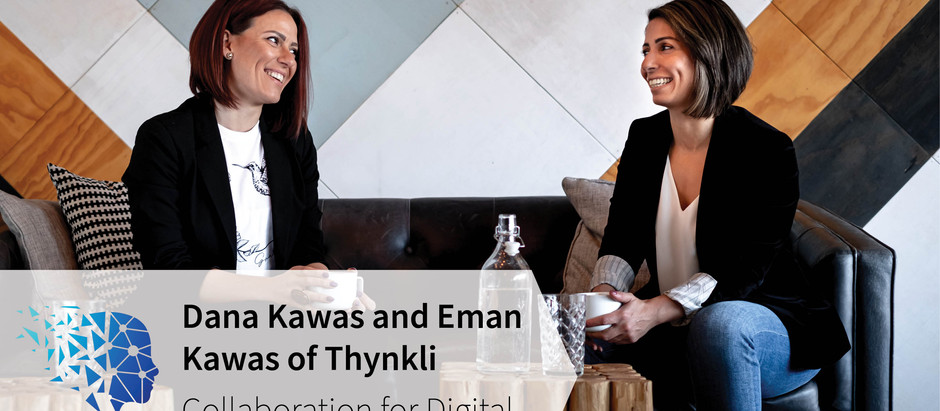 Trailblazer series: Dana and Eman Kawas, Co-Founders of Thynkli