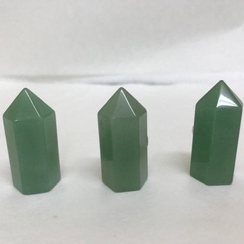 Green Aventurine Point - small
