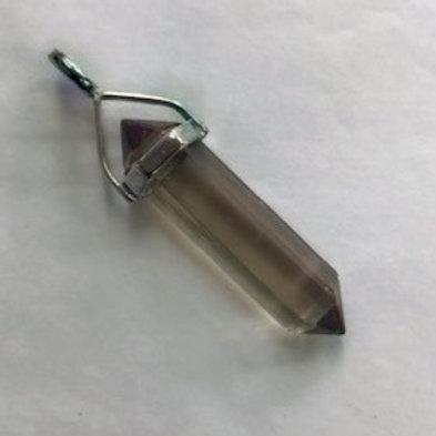 Smoky Quartz Sterling Silver Pendant