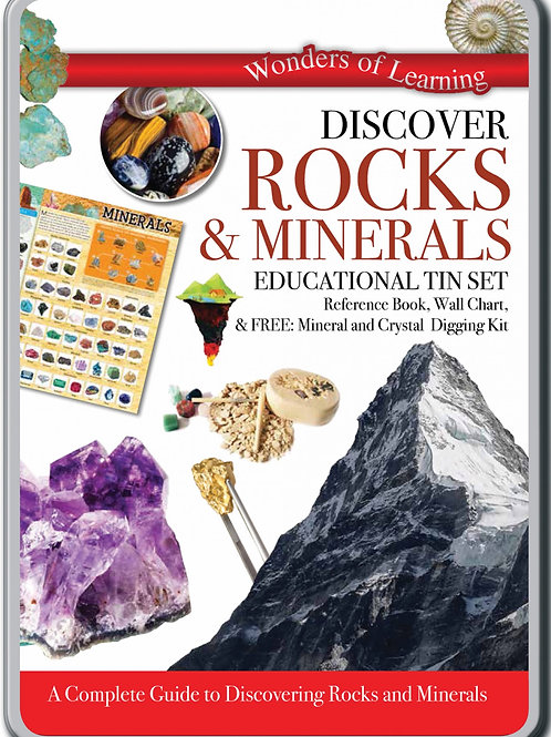Discover Rocks and Minerals Science kit