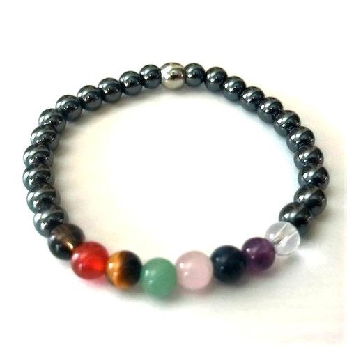Children's Chakra Bracelet - 6mm beads
