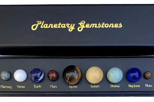 Planetary Gemstones Gift box