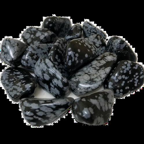 Snowflake Obsidian - medium