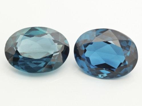 BLUE ZIRCON 8 X 6MM OVAL