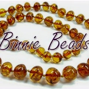 Amber Teething Beads