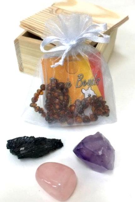 MAMA + BABY - nurture & love crystal kit
