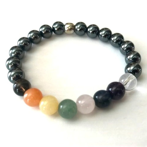 Chakra Bracelet -8mm beads