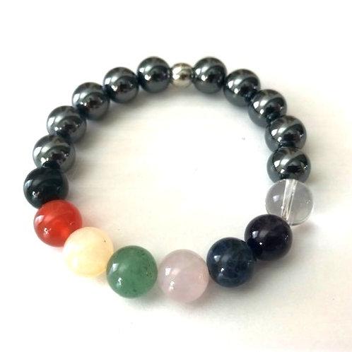 Chakra Bracelet -10mm beads