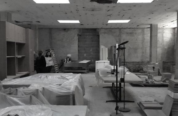 Qui costruiremo l'aula (zona a rustico)