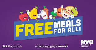 free meals for all logo