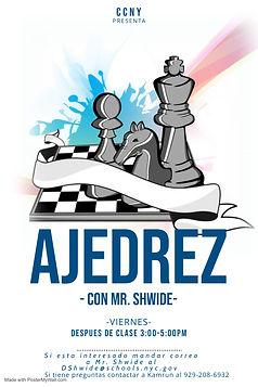 chess flyer spanish