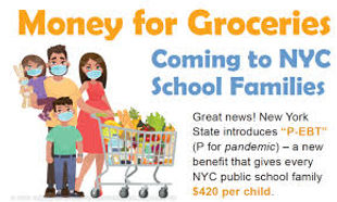 money for groceries family shopping