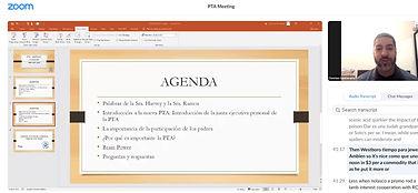 PTA Meeting December