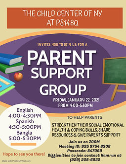 PARENT SUPPORT ENGLISH 122 - Made with P
