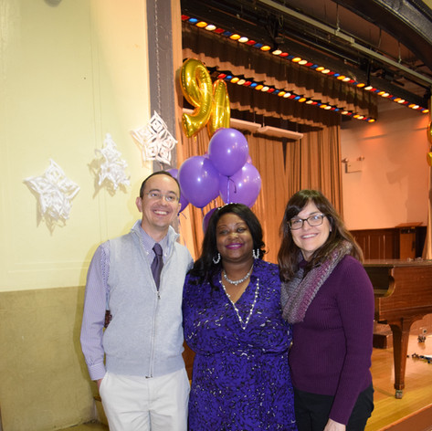 principal and two teachers