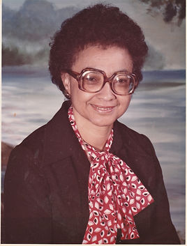 lady with glasses